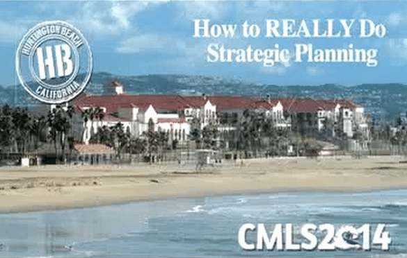 How To Really Do Strategic Planning