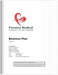 Medical Device Business Plan Sample