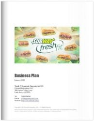 Franchise Business Plan Sample