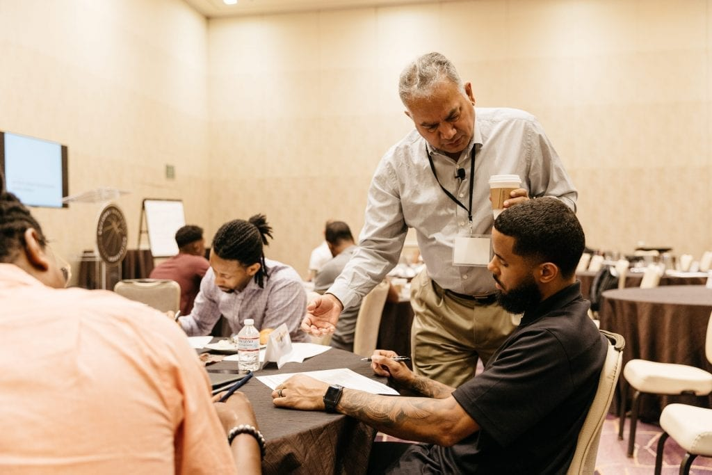 Shyam Jha Instructing at the NBAPA Career Summit